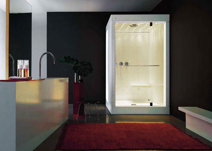 des cabines de douche design inspiration bain. Black Bedroom Furniture Sets. Home Design Ideas