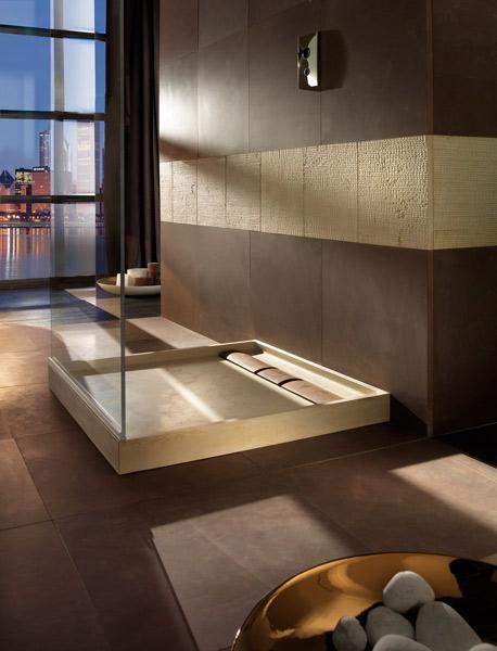 Les salles de bains en marbre de Margraf. Coll. Quadra