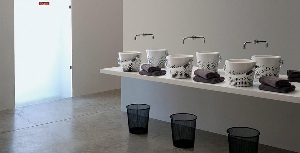 les vasques misent sur l 39 originalit inspiration bain. Black Bedroom Furniture Sets. Home Design Ideas
