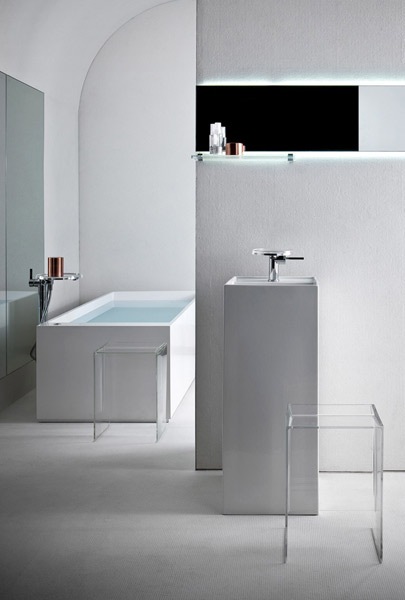 kartell by laufen une salle de bains unique inspiration bain. Black Bedroom Furniture Sets. Home Design Ideas