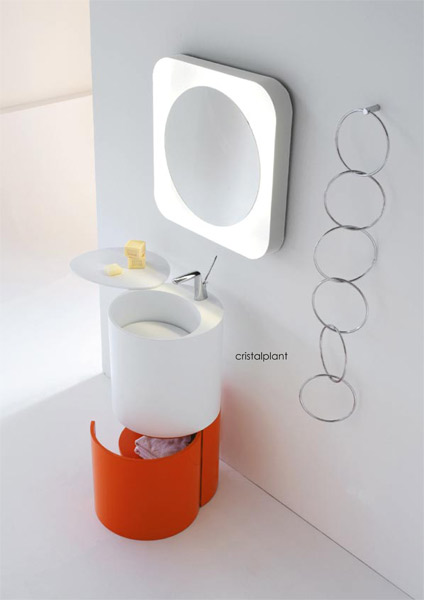 Lavabo 155°, coll. Degree, BMood