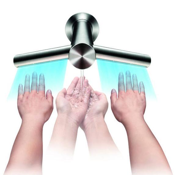 le robinet s che mains de dyson inspiration bain. Black Bedroom Furniture Sets. Home Design Ideas