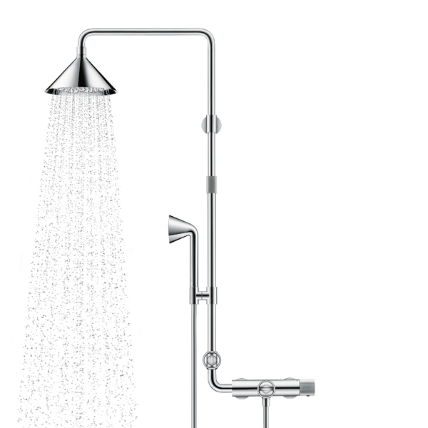 """ShowerPipe"", designed by Front pour Axor d'Hansgrohe"