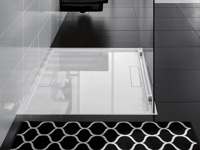 des receveurs inspiration bain. Black Bedroom Furniture Sets. Home Design Ideas