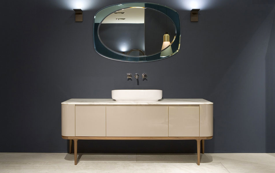 Meuble de salle de bain style retro trendy une salle de for Meuble de salle de bain style retro