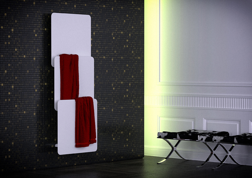quel radiateur s che serviettes pour sa salle de bains inspiration bain. Black Bedroom Furniture Sets. Home Design Ideas