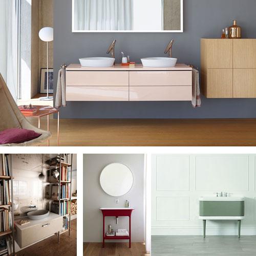 Inspiration bain le magazine de la salle de bains - Couleur tendance pour salle de bain ...