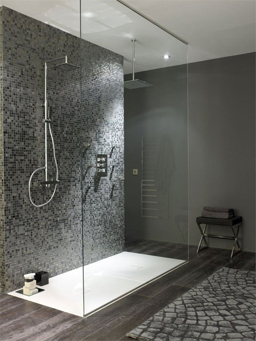 Douche à l'italienne. Source Archilovers.com