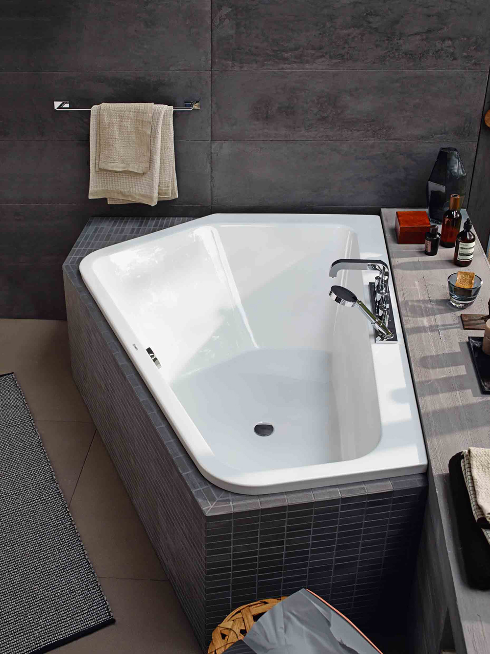 baignoire pa ova 5 de duravit inspiration bain. Black Bedroom Furniture Sets. Home Design Ideas