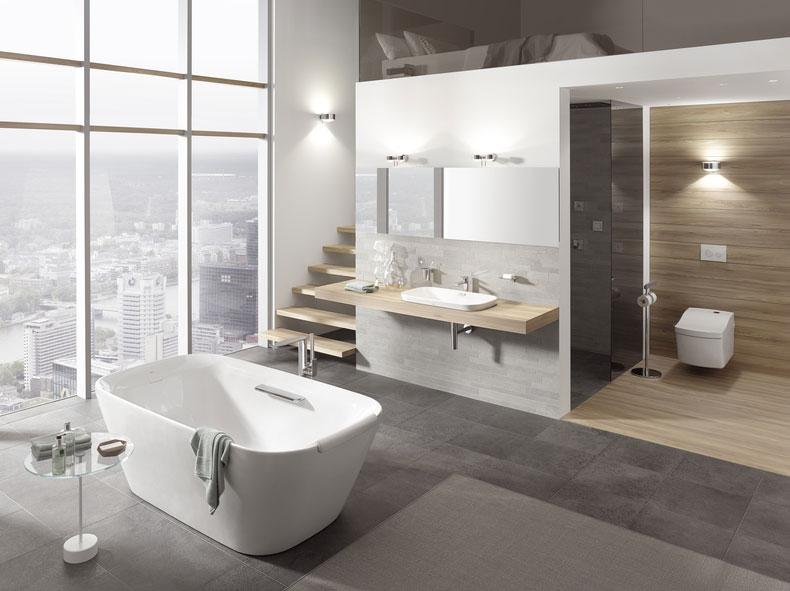 La baignoire lot la star de la salle de bains for Toto salle de bain