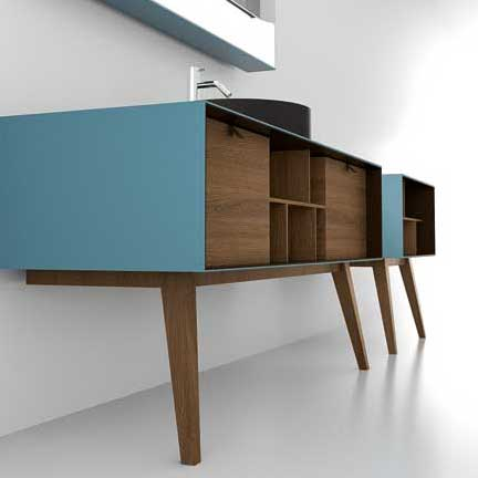 dama le meuble vasque sur pieds compas d 39 artelinea inspiration bain. Black Bedroom Furniture Sets. Home Design Ideas