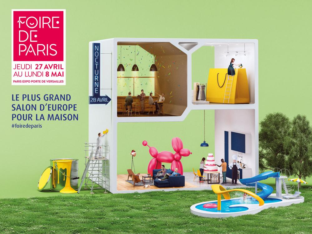 Foire de Paris - Inspiration bain