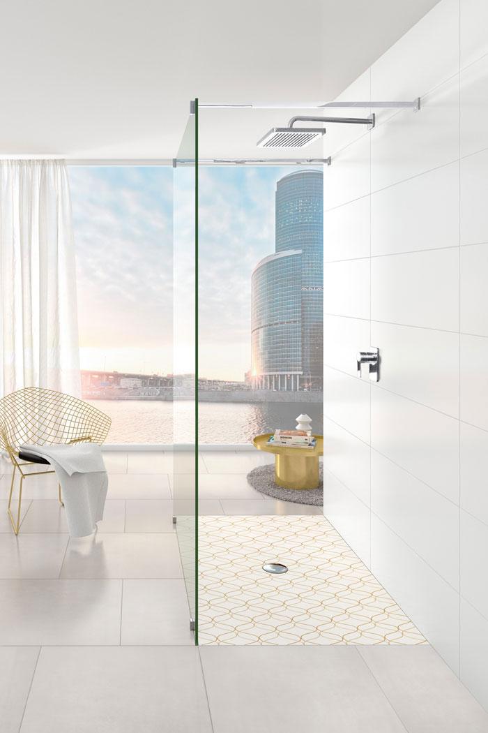 les receveurs de douche villeroy boch donnent le ton inspiration bain. Black Bedroom Furniture Sets. Home Design Ideas
