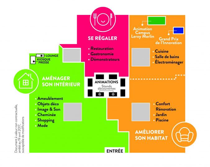 Plan pour la Foire de Paris - Hors-série Maison 2017