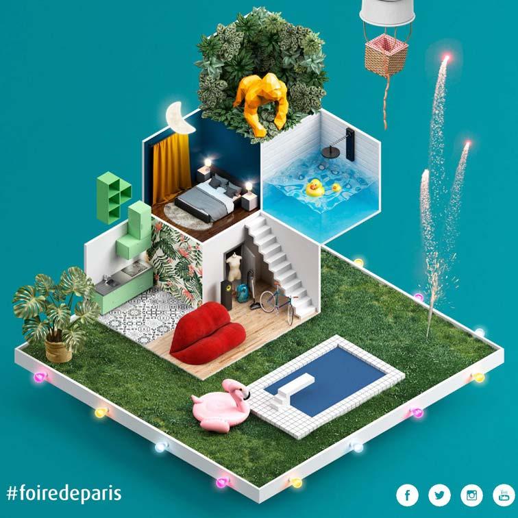Inspiration bain le magazine de la salle de bains - Place foire de paris ...