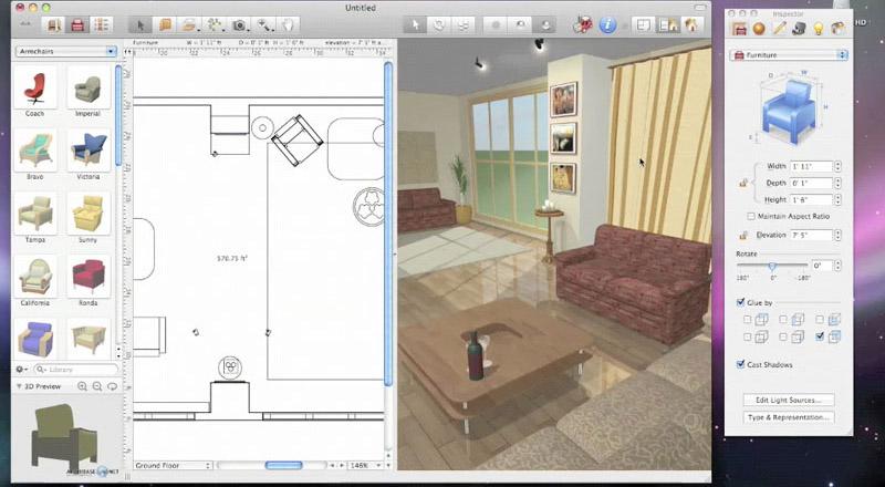 Plan 3D salle de bains- logiciel 3D salle de bains