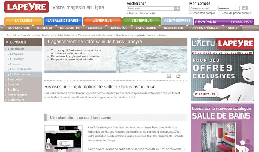 www.lapeyre.fr