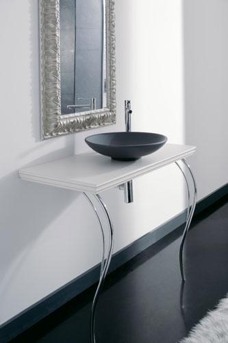 Antika Thin Line de Scarabeo, salle de bains baroque, meubles de salle de bains