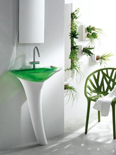 Ylang de Decotec, vasque, salle de bains couleur