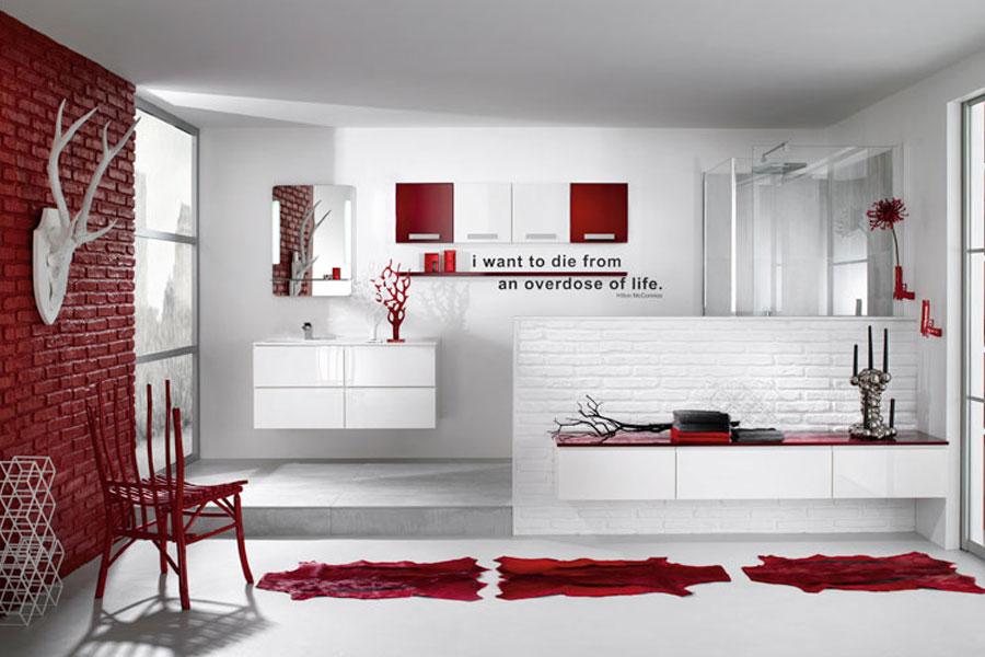 Influences d'Aujourd'hui de Delpha, meubles de salle de bains, salle de bains blanche