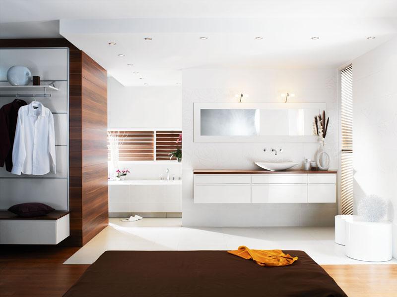 Modèle Ness de Perene, meubles de salle de bains, salle de bains blanche