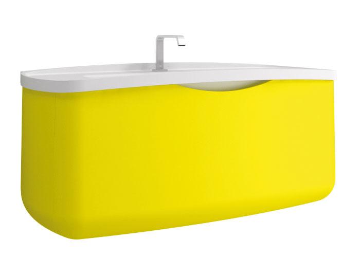 Metamorfosi de Stocco, meubles de salle de bains, salle de bains de couleur