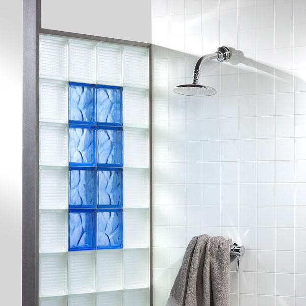 fantastic la brique de verre dans la salle de bains inspiration bain kd94