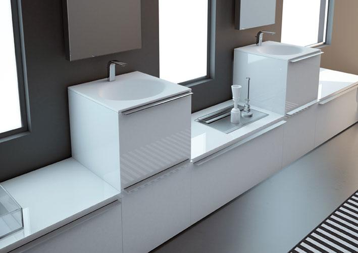 Collection KA d'Inbani-meubles de salle de bains