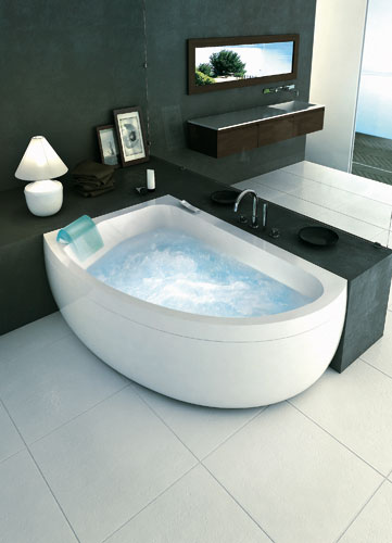 Baignoire Aquasonge de Jacuzzi-baignoire balnéo