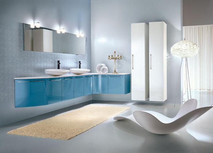 Free de Idea Group-salle de bains bleue