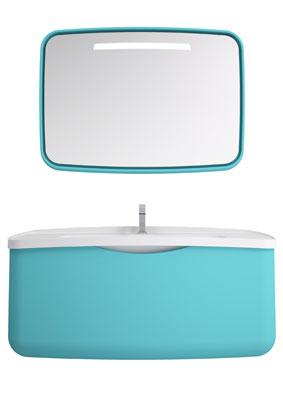 Metamorfosi de Stocco-salle de bains bleue