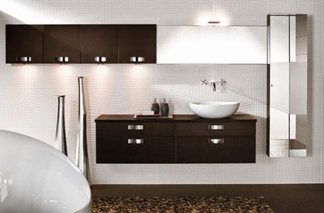 Como Wengé de Mobalpa-meuble de salle de bains