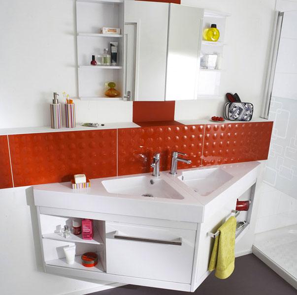 Powell de Castorama-petite salle de bains