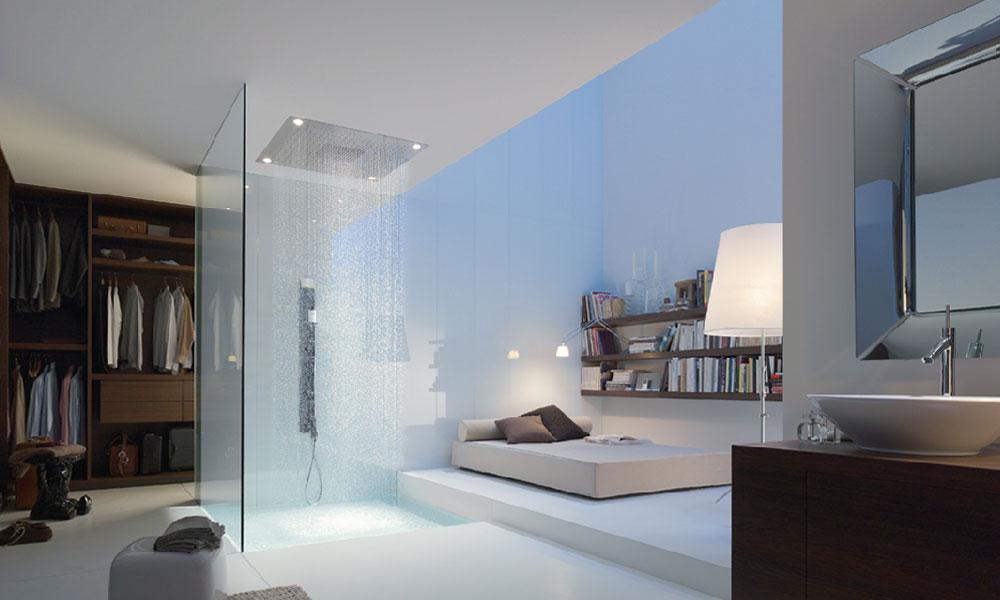 Axor Starck ShowerCollection d'Hansgrohe-salle de bains loft