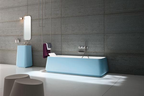 Opus de Rexa-salle de bains bleue