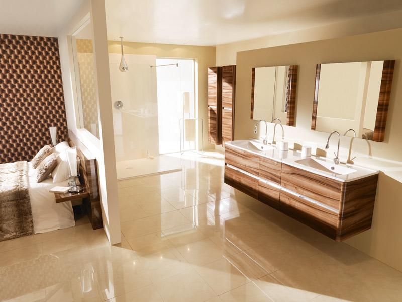 Salle de bains en bois : Ambiance Bain