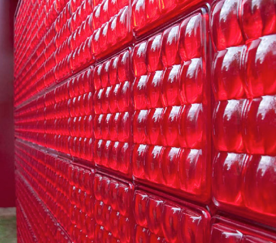 La brique de verre lumineuse de Fred & Fred
