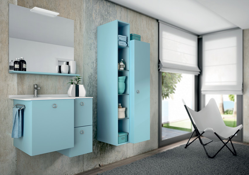 Colonnes de rangements pour la salle de bains : Pyram