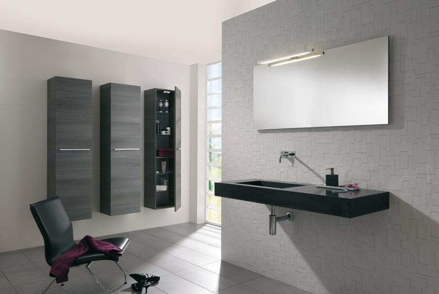 Colonnes de rangements pour la salle de bains : Azur Lign