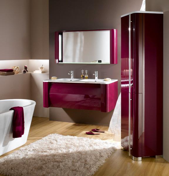 Colonnes de rangements pour la salle de bains : Decotec