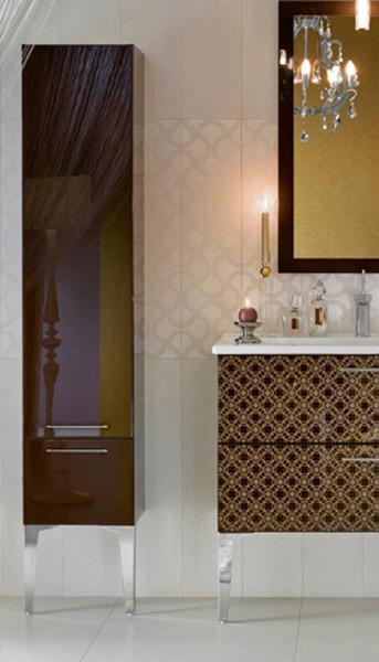 Colonnes de rangements pour la salle de bains : Delpha