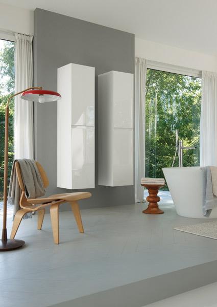 Colonnes de rangements pour la salle de bains : Idea Group