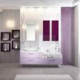Les salles de bains « tendance pastel » de Schmidt