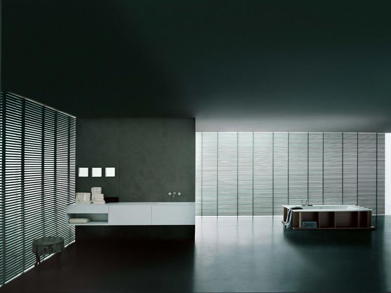 Salle de bains I Fiumi ST de Boffi