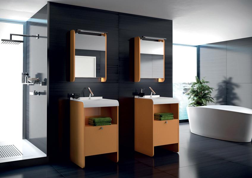 Salle de bains Solo, collection J2O de Pyram
