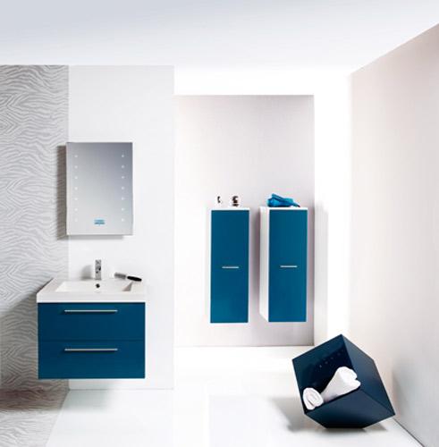 Salle de bains high-tech : Cedam