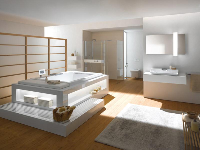 Salle de bains high-tech : Toto