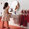 Une salle de bains rigolote pour les enfants