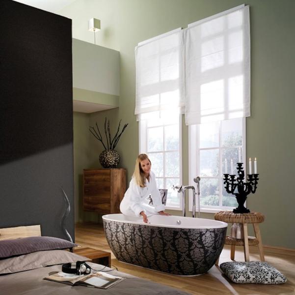 Déco baroque pour salle de bains : Aquamass