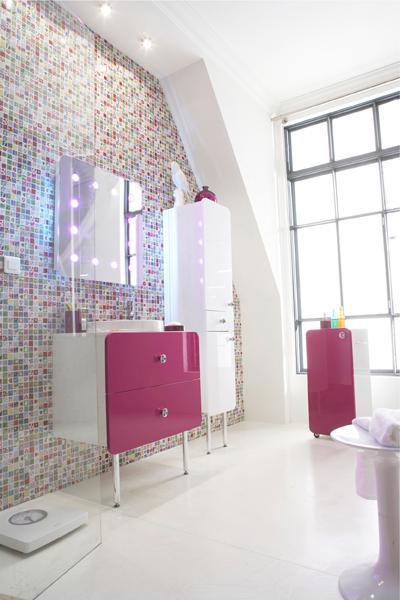 Salle de bains ados : Modèle Samba de Castorama